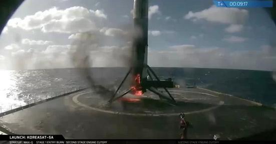 SpaceX今年第16次发射,并且成功回收火箭