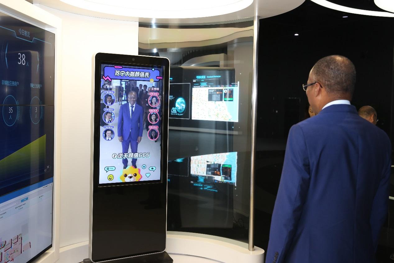 佛得角总理席尔瓦一行到访苏宁,智慧零售搭建国际贸易桥梁