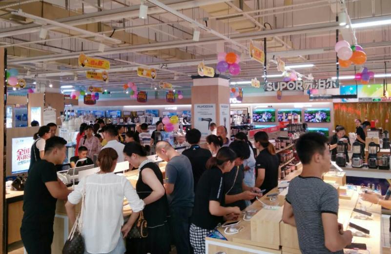 苏宁大润发门店突破400家,中秋手机销售增长215%