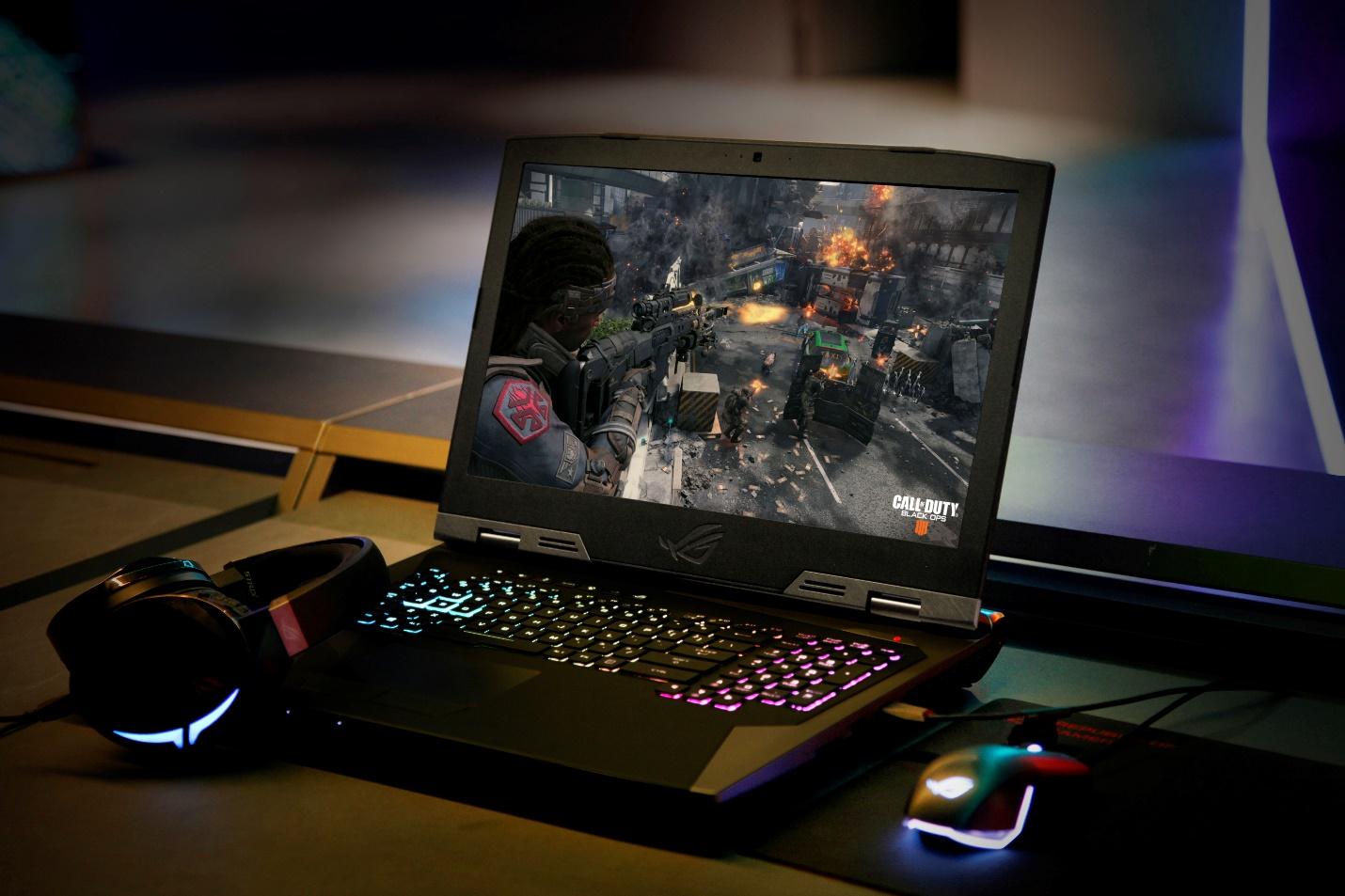 CES 2019 ROG发布多款GeForce RTX 20系列显卡游戏笔记本